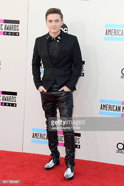 Singer Jesse McCartney attends the 2013 American Music Awards at Nokia Theatre LA Live on November 24 2013 in Los Angeles California