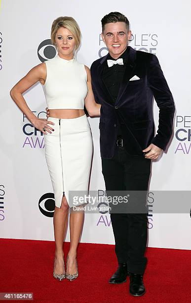 Singer Jesse McCartney attends the 2015 People's Choice Awards at the Nokia Theatre LA Live on January 7 2015 in Los Angeles California