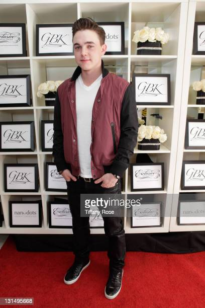 Singer Jesse McCartney attends the GBK Golden Globe Gift Lounge at The London Hotel on January 15 2011 in West Hollywood California