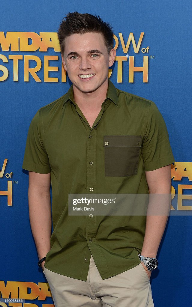 Singer Jesse McCartney attends the MDA Show of Strength held at CBS Television City on August 8, 2012 in Los Angeles, California. The show airs on Sunday, September 2, 2012 at 8PM