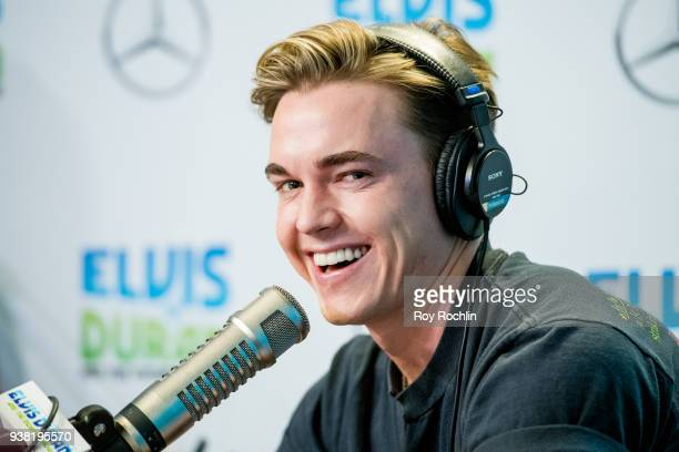 Singer Jesse McCartney Visits The Elvis Duran Z100 morning show at Z100 Studio on March 26 2018 in New York City