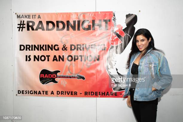 Singer Jesse Palter attends RADDNightLive at Mr Musichead Gallery on September 20 2018 in Los Angeles California