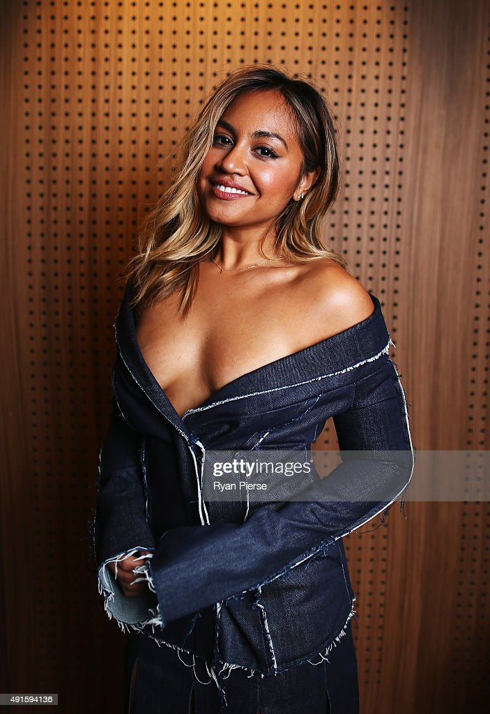 Singer Jessica Mauboy poses at the 29th Annual ARIA Nominations Event on October 7, 2015 in Sydney, Australia.