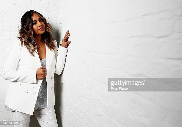Singer Jessica Mauboy poses at the 30th Annual ARIA Nominations Event on October 5 2016 in Sydney Australia