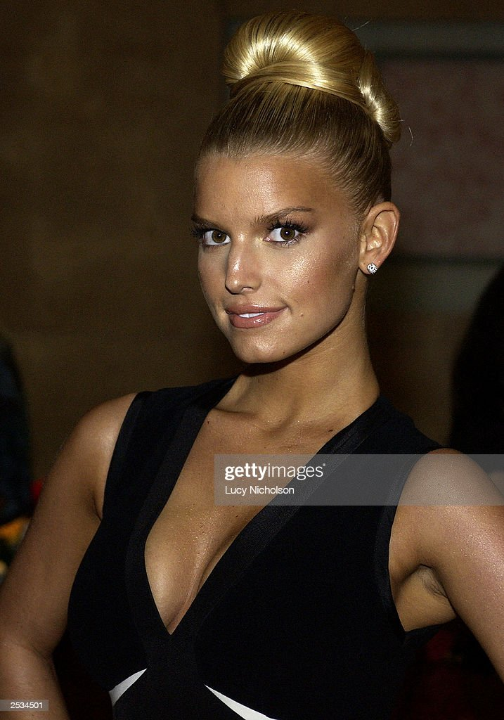 Singer Jessica Simpson Attends The 2003 Operation Smile