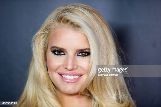 Singer Jessica Simpson attends the 27th Annual Footwear News Achievement Awards at the IAC Building on December 3, 2013 in New York City.