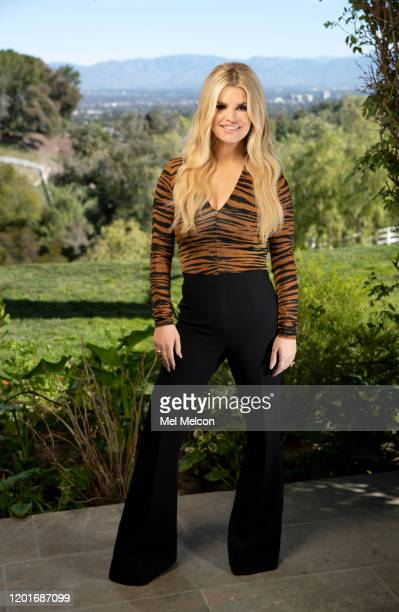 Singer Jessica Simpson is photographed for Los Angeles Times on January 31 2020 in Hidden Hills California PUBLISHED IMAGE CREDIT MUST READ Mel...