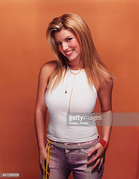 Singer Jessica Simpson is photographed for YM Magazine in 2000 in Los Angeles California Photo by Kwaku Alston/Corbis via Getty Images
