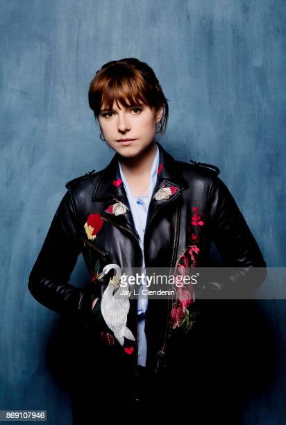 Singer Jessie Buckley from the film Best poses for a portrait at the 2017 Toronto International Film Festival for Los Angeles Times on September 10...