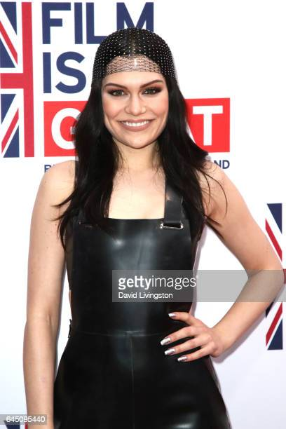 Singer Jessie J arrives at The GREAT Film Reception to Honor the British Nominees of The 89th Annual Academy Awards at Fig & Olive on February 24,...