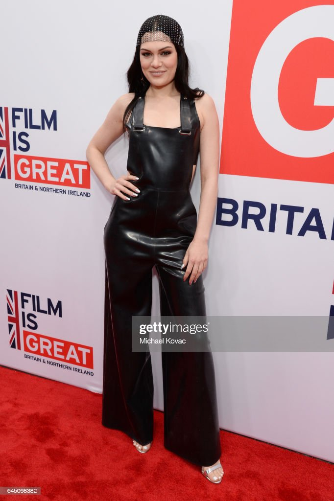 Singer Jessie J attends Film is GREAT Reception honoring the British Nominees of the 89th Annual Academy Awards Sponsored by British Airways at Fig & Olive on February 24, 2017 in West Hollywood, California.