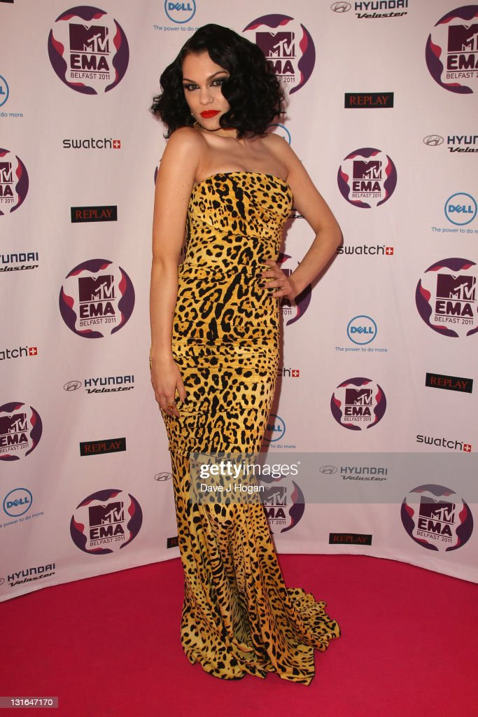 Singer Jessie J attends the MTV Europe Music Awards 2011 at the Odyssey Arena on November 6, 2011 in Belfast, Northern Ireland.