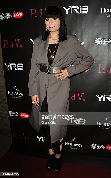 Singer Jessie J attends the YRB magazine issue release party at RDV on May 20 2011 in New York City