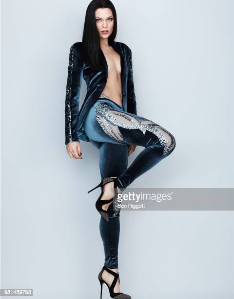 Singer Jessie J is photographed for Cosmopolitan magazine on August 14 2014 in London England