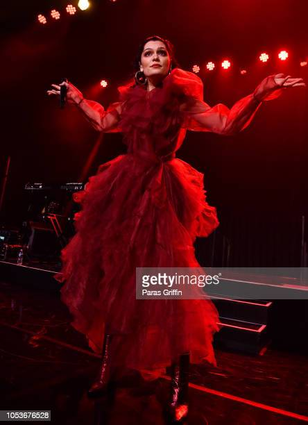 Singer Jessie J performs in concert during her The ROSE tour at Buckhead Theatre on October 25 2018 in Atlanta Georgia