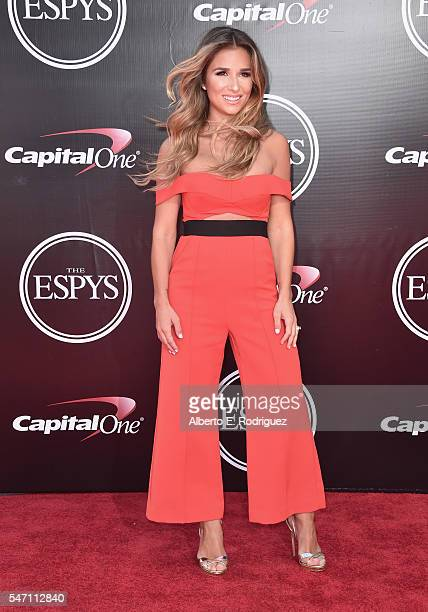 Singer Jessie James attends the 2016 ESPYS at Microsoft Theater on July 13 2016 in Los Angeles California