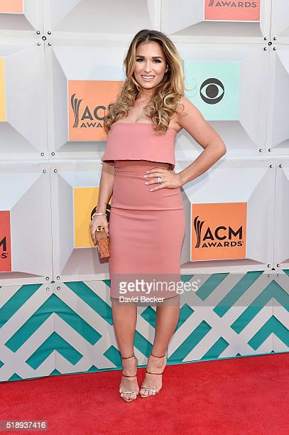 Singer Jessie James attends the 51st Academy of Country Music Awards at MGM Grand Garden Arena on April 3 2016 in Las Vegas Nevada