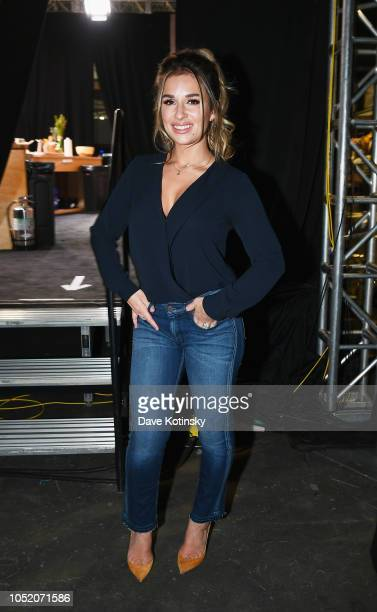 Singer Jessie James Decker attends Food Network Cooking Channel New York City Wine Food Festival Presented by Capital One Grand Tasting presented by...