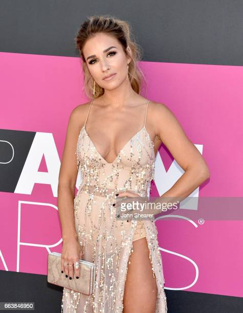 Singer Jessie James Decker attends the 52nd Academy Of Country Music Awards at Toshiba Plaza on April 2 2017 in Las Vegas Nevada