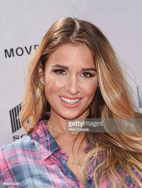 Singer Jessie James Decker attends the 'Paul Blart Mall Cop 2' New York Premiere at AMC Loews Lincoln Square on April 11 2015 in New York City