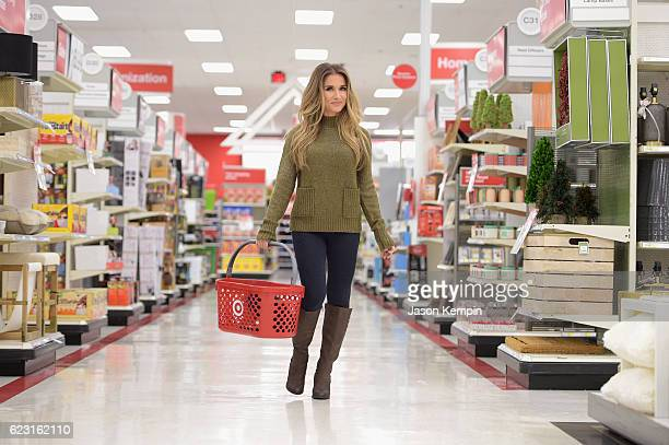 ababfd4fa31 Singer Jessie James Decker shops game day entertaining essentials in the  home aisles at local Target