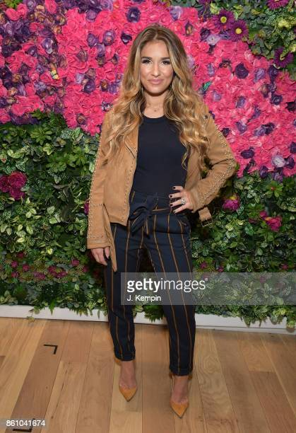 Singer Jessie James Decker signs copies of her new album 'Southern Girl City Lights' at Sony Square on October 13 2017 in New York City