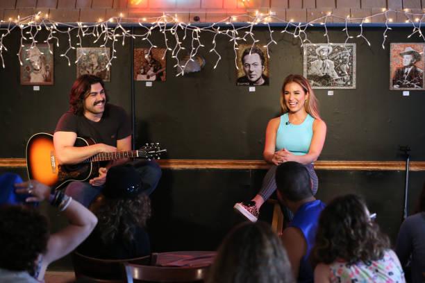 TN: 2019 ACM Lifting Lives Music Camp Dinner Bluebird Cafe Visit With Jessie James Decker