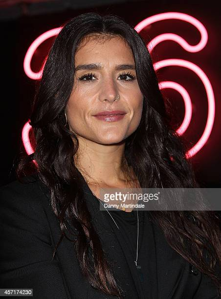 Singer Jessie Ware meets fans and signs copies of her new album 'Tough Love' at HMV Oxford Street on October 13 2014 in London England