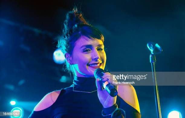 Singer Jessie Ware performs live during a concert at the Astra on March 26 2013 in Berlin Germany