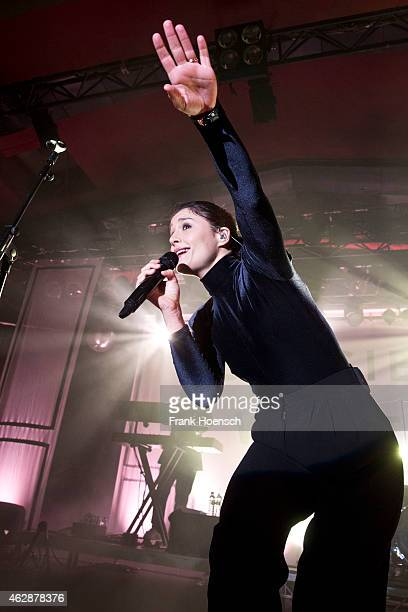 Singer Jessie Ware performs live during a concert at the Astra on February 6 2015 in Berlin Germany