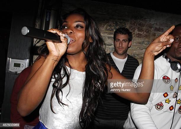 Singer Jessyca Wilson attends John Legend's birthday party at SL on December 28 2009 in New York City