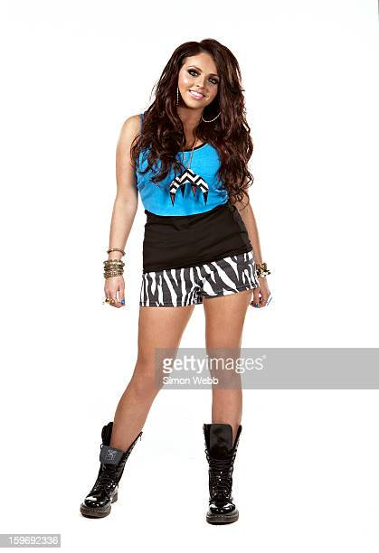 Singer Jesy Nelson of pop band Little Mix is photographed for We Love Pop magazine on June 26 2012 in London England