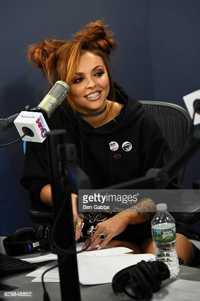 Singer Jesy Nelson visits at SiriusXM Studio on December 14 2016 in New York City