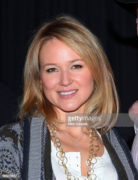 Singer Jewel attends the PBR Garth Brooks Teammates For Kids Foundation press conference at Madison Square Garden on January 8 2010 in New York City