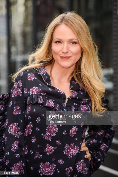 Singer Jewel Kilcher enters the AOL Build taping at the ABC Times Square Studios on March 30 2017 in New York City