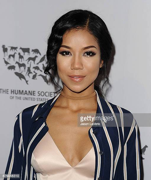 Singer Jhene Aiko attends The Humane Society of The United States' To The Rescue gala at Paramount Studios on May 07 2016 in Hollywood California
