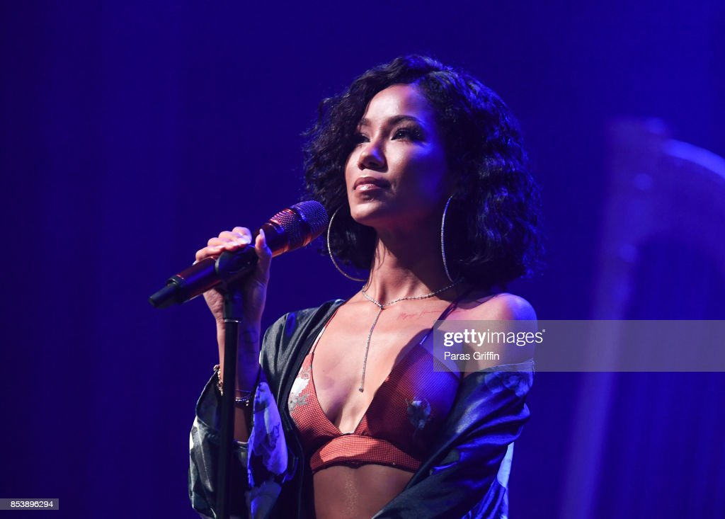 Jhene Aiko And Ro James In Concert - Atlanta, Georgia : News Photo