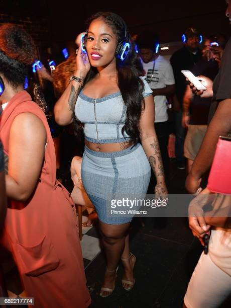 Singer Jhonni Blaze attends BoB ETHER Album Listening Party at Studio No 7 on May 11 2017 in Atlanta Georgia