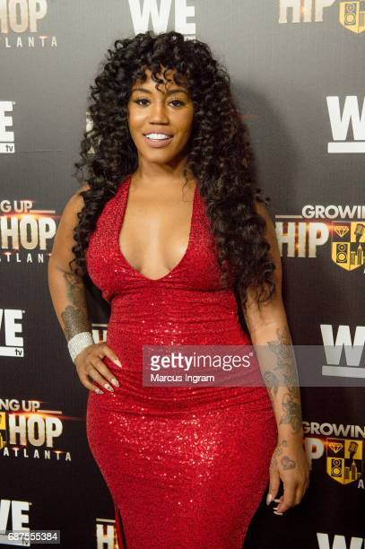 Singer Jhonni Blaze attends the 'Growing Up Hip Hop Atlanta' premiere at Woodruff Arts Center on May 23 2017 in Atlanta Georgia
