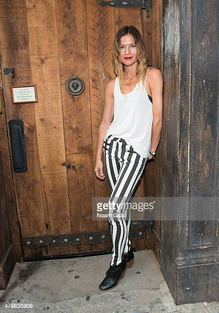 Singer Jill Hennessy poses outside of Carroll Place on June 10 2015 in New York City