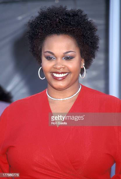 Singer Jill Scott attends the Seventh Annual Soul Train Lady of Soul Awards on August 28 2001 at the Santa Monica Civic Auditorium in Santa Monica...
