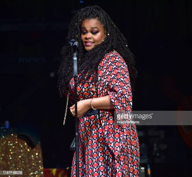 Singer Jill Scott performs at the at Fox Theater on August 12 2019 in Atlanta Georgia