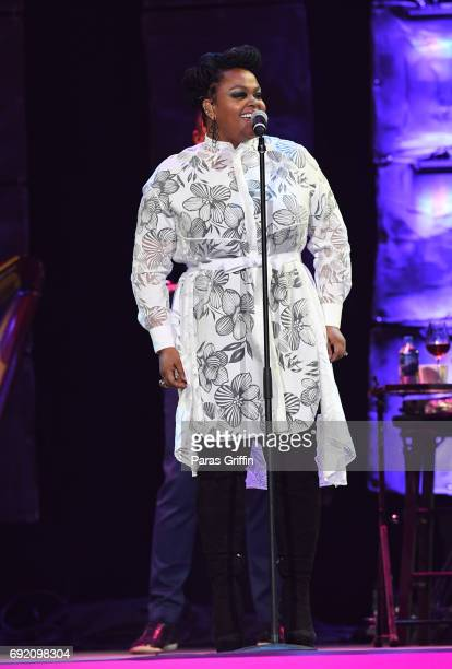 Singer Jill Scott performs onstage at 2017 Andrew Young International Leadership Awards and 85th Birthday Tribute at Philips Arena on June 3 2017 in...