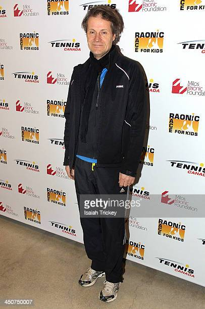 Singer Jim Cuddy attends The 2nd Annual Raonic Race For Kids Fundraiser Benefitting The Milos Raonic Foundation on November 19, 2013 in Toronto,...
