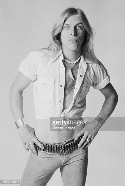 Singer Jim 'Dandy' Mangrum of American Southern rock group Black Oak Arkansas 23rd September 1974