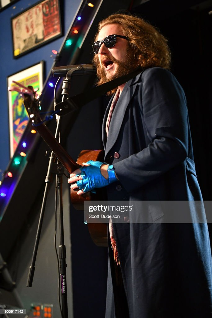 Jim James Performs At Amoeba