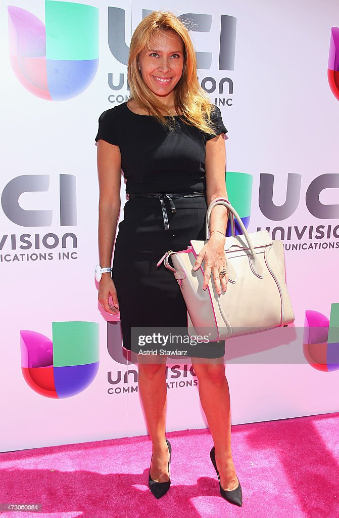 Singer Jimena Gallego attends Univision's 2015 Upfront at Gotham Hall on May 12, 2015 in New York City.