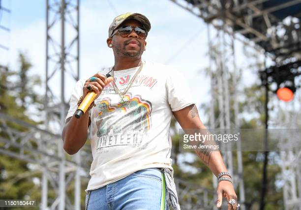 Singer Jimmie Allen performs on Day 2 of Summer Country Music Festival 2019 on June 14 2019 in Sonoma California
