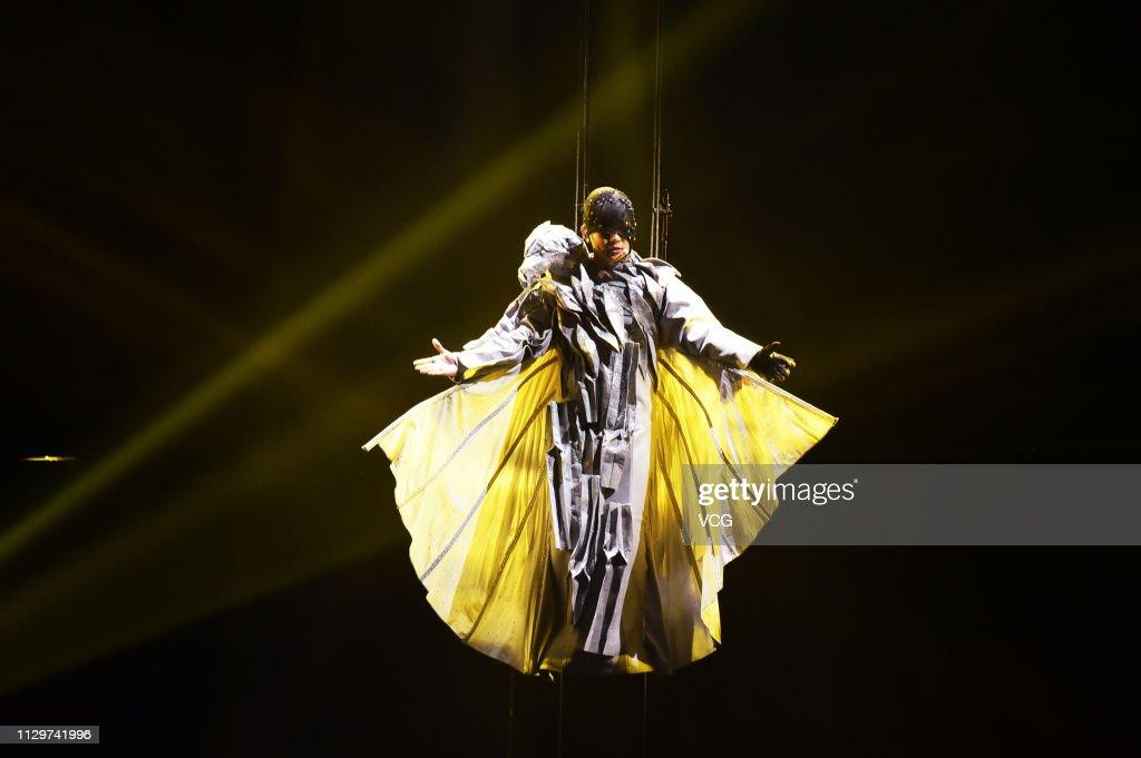 JJ Lin Performs In Taipei : News Photo