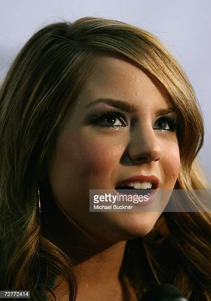 Singer Jo Jo arrives at KIIS FM's Jingle Ball 2006 at the Honda Center on December 7 2006 in Anaheim California